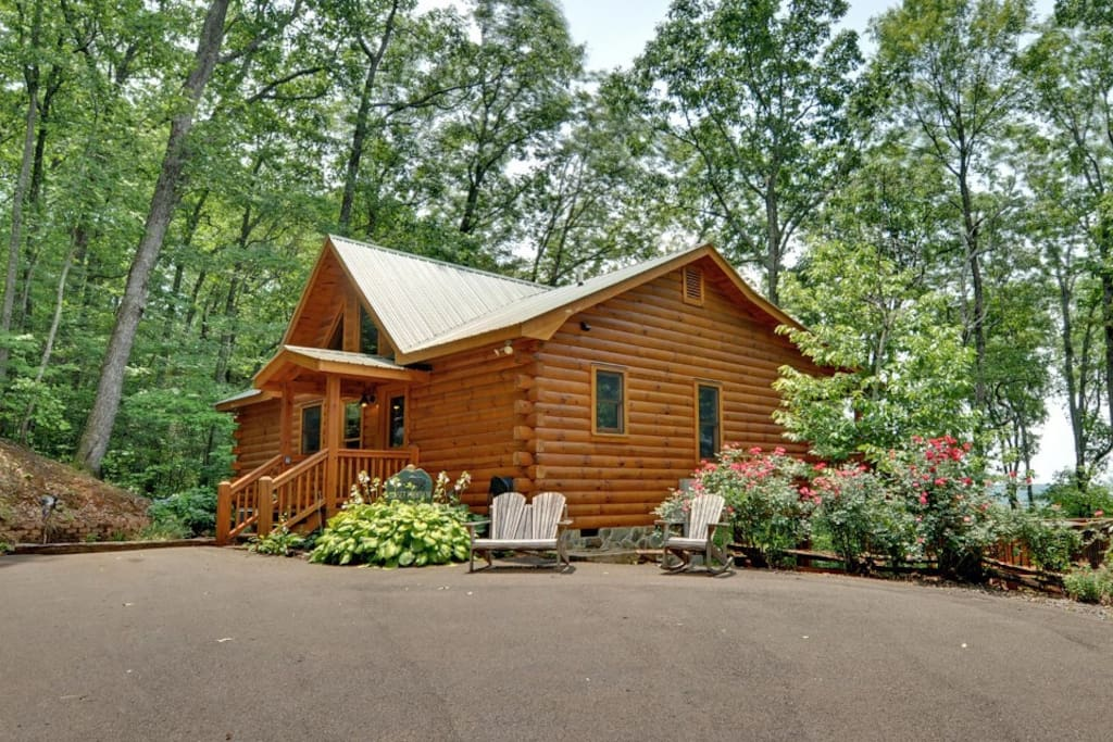 sunset mountain view cabin cabins for rent in cherry log