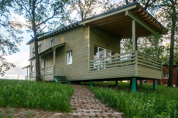 Шведские Дачи, Зеленый Дом - Samara - Huis
