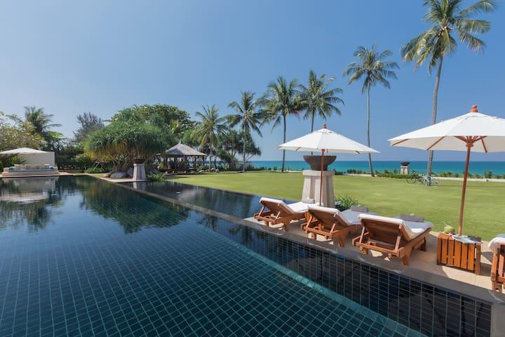 Villa Sundara_Luxury 6BR beachfront, Natai beach