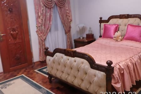 (PEACH) Private Room in Lipa with indoor pool