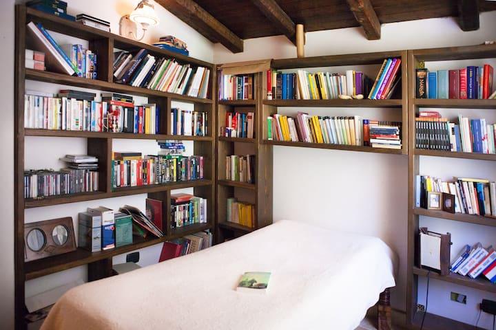 stanza libreria