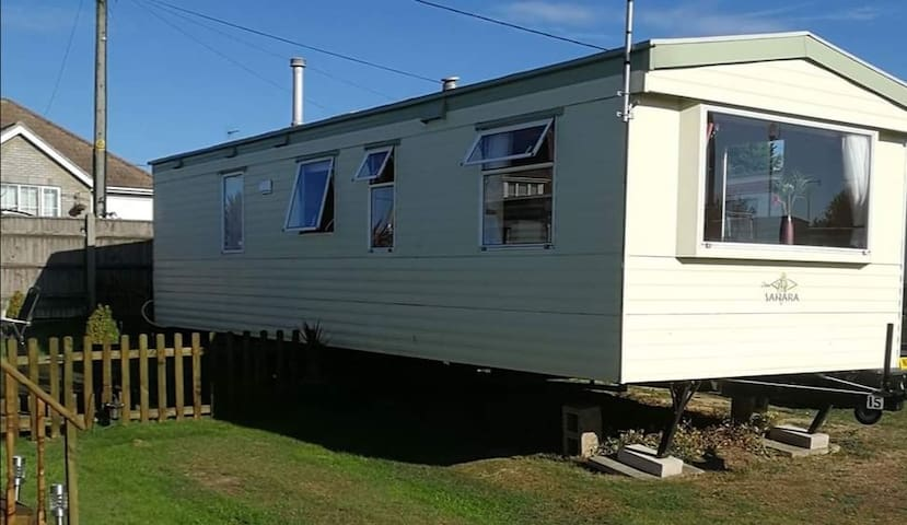 6 berth Caravan. Spacious and well equipped.