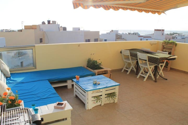 Terrace With Sunset Seaview!