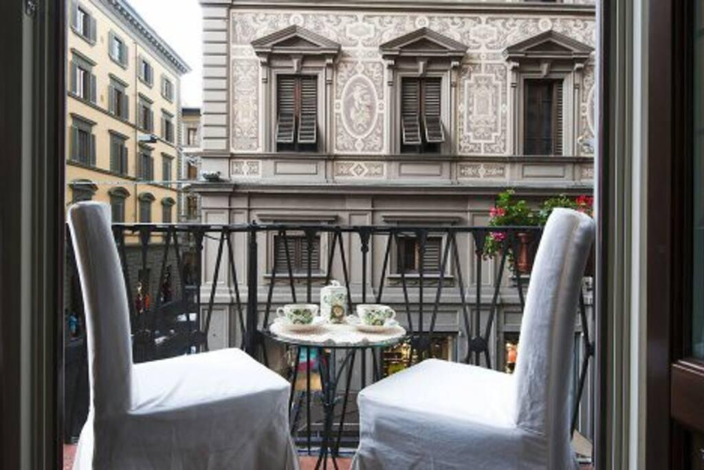 Per i momenti romantici nel balcone