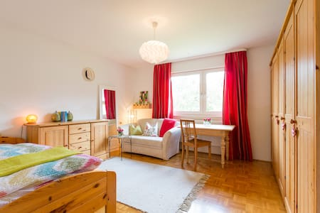 Charming, friendly room near Lindau - Weißensberg - Andet