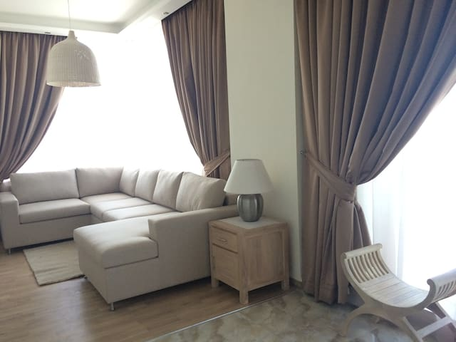 Full sea view, 1bd+Living Room, airy, calm, modern