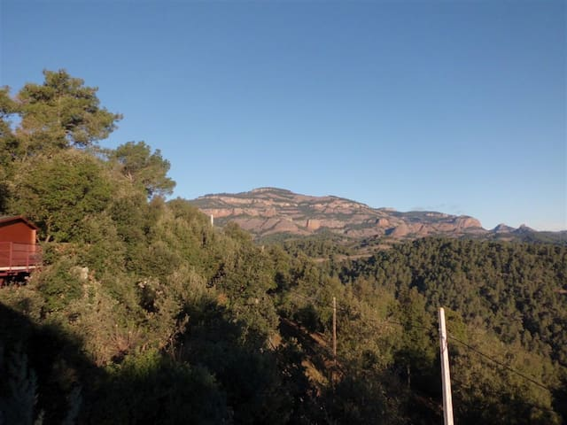 Idyllic chalet in hills near Bcn