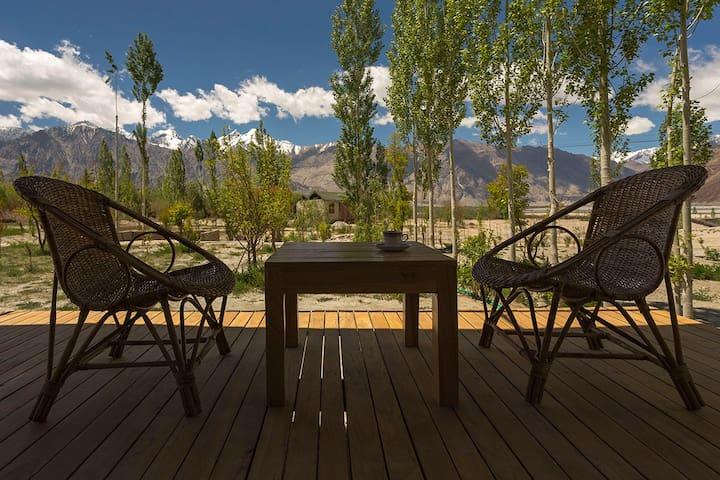 nubra ecolodge - Sumoor, Nubra, Ladakh - Namiot