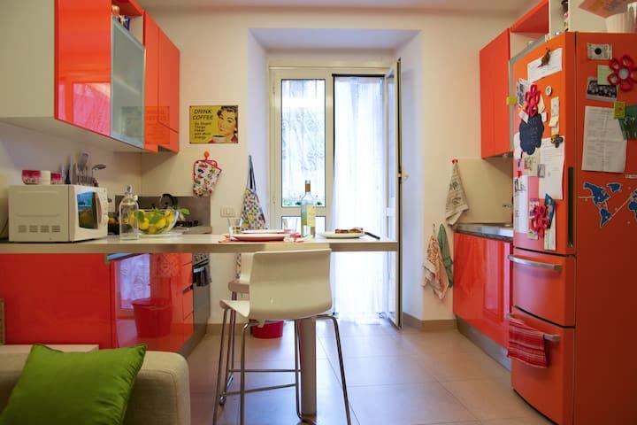 Cosy house with garden in Rome - Roma - Leilighet