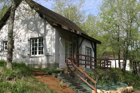 Maison T3 en forêt + Piscine - Saint-Chamarand