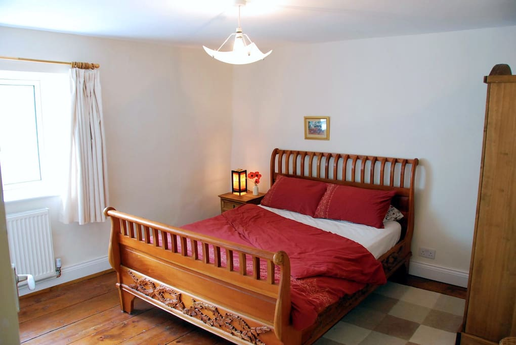 with king size bed