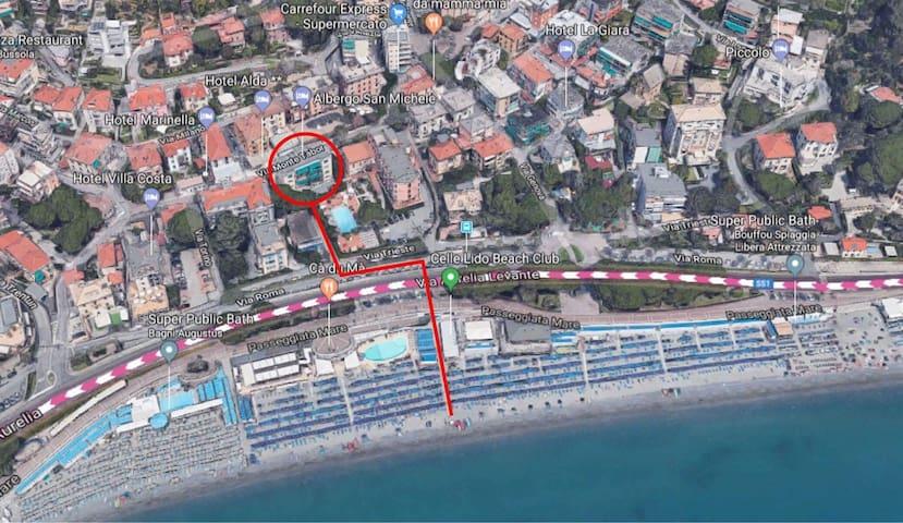 Appartamento Lido 50 metri dal mare