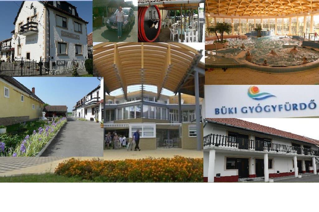 Bük-Bad und Meine Gästehaus