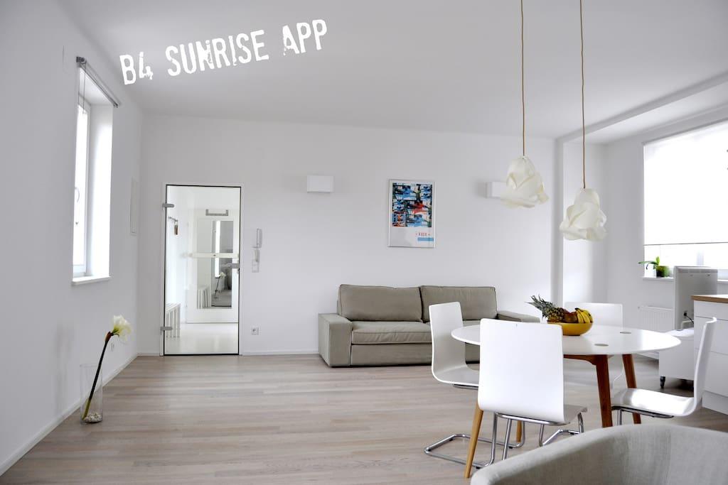 living room - salle de séjour