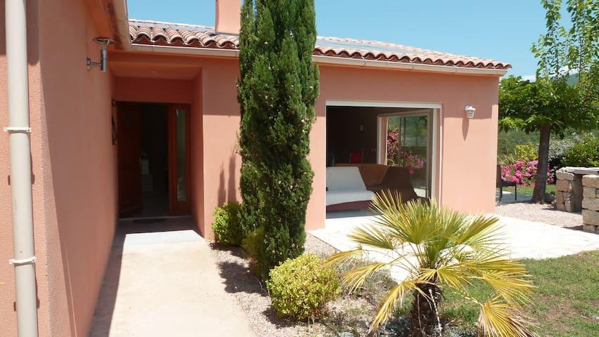 Villa rive sud du Golfe d'Ajaccio - Albitreccia - Rumah
