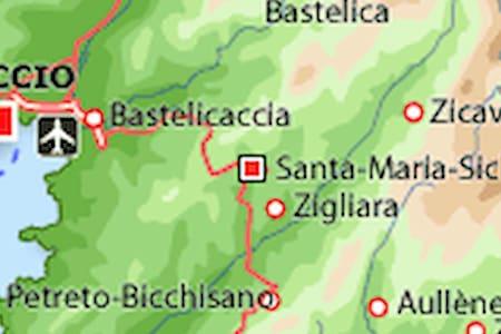 maison  3 chambres + voiture - Santa-Maria-Siché - Casa