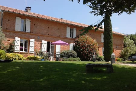 Maison de caractère en brique rose  - Beaupuy - Rumah