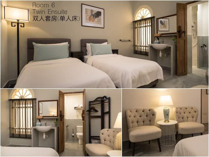 双床套房- TWIN EN-SUITE ROOM