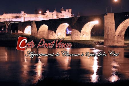 Gite de charme, appartement à 2 pas de la Cité - Carcassonne - Leilighet