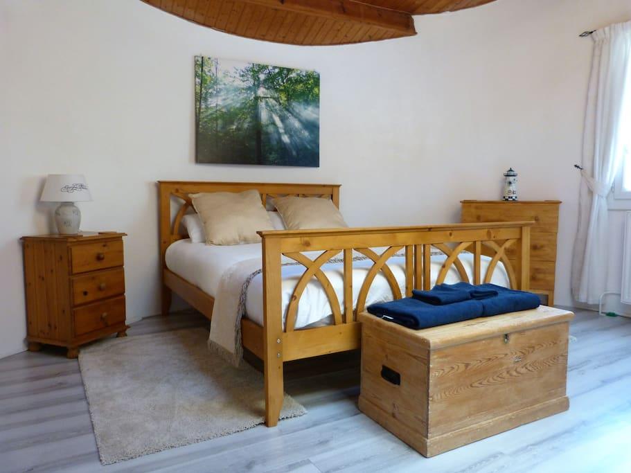The gite bedroom