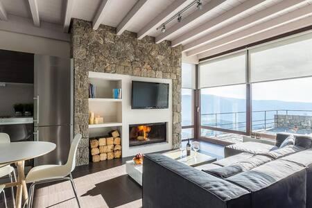 White Hills luxury Villa B - Arachova