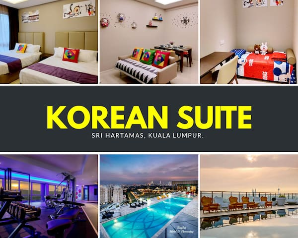 Korean Suite ♛ Dorsett Residences Sri Hartamas