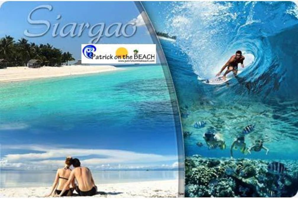 Surfing, Island Hoping and plenty water sport activities