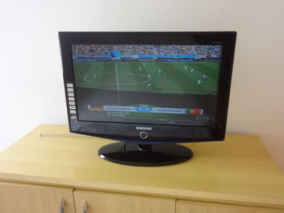 Tv set.