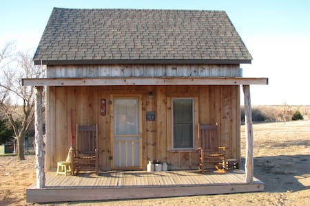 Northwest Oklahoma Cabin Retreat - Cabaña