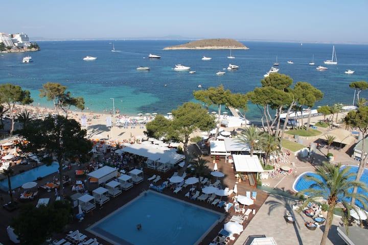 Me Mallorca.Apartamento en la playa