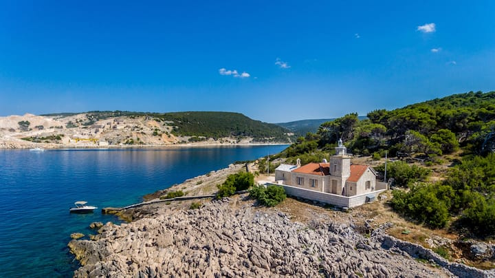 St. Nicholas lighthouse - island of Brač