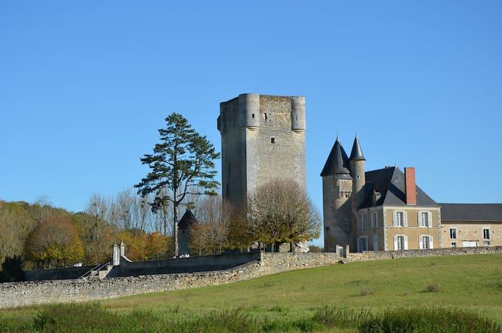 Gîte - Château de Mazières - Tendu - Casa