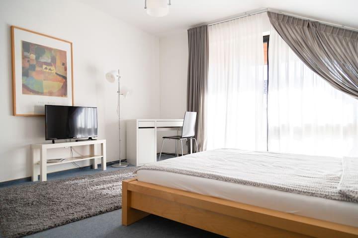 Großes Zimmer in schönem Gästehaus nahe Hanau