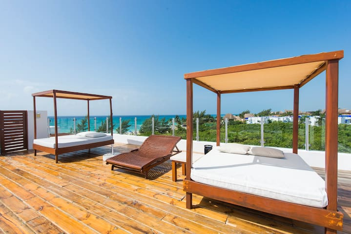 Luxury 2/2.5 just in front of beach - Playa del Carmen - Apartamento