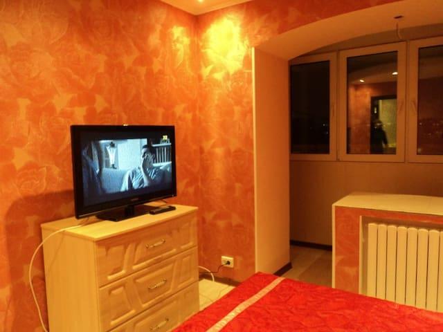 Трёхкомнатная квартира, рядом с ЦУМ - Donetsk - Daire