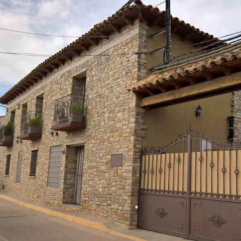 Apartamento entero en casa rural cerca de zaragoza - Lumpiaque - Apartemen