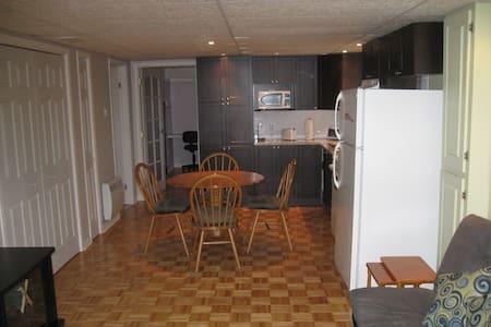 Appartement tout équipé à proximité de Montréal - Charlemagne