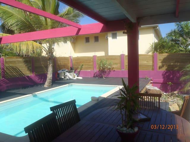 Beautiful Modern Villa With Swimmin - SAINT MARTIN - Casa