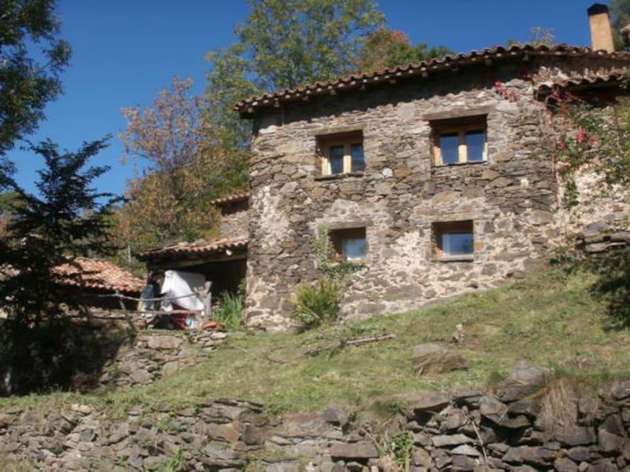 stone litlle cottage