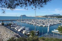 MORAIRA PORT 1 km from the house