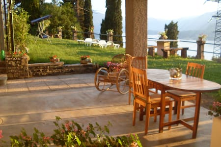 VEZIO HILLS HOUSE Varenna Lake Como - Perledo - Wohnung