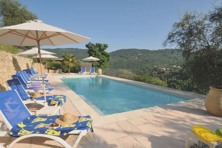Lower Gdn Apartment & *Heated Pool* - Le Bar-sur-Loup