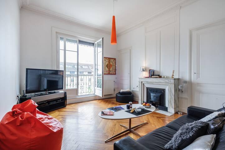 Chambre privée,appartement standing - Lyon - Apartment