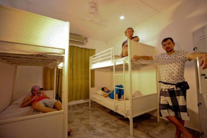 Shared mixed dormitory