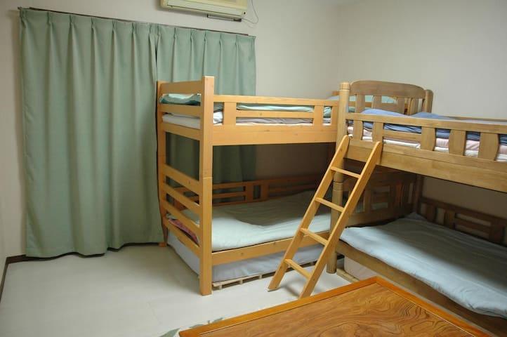 Quadruple Room with Shared Bathroom D