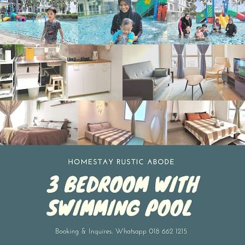 Homestay Rustic Abode with Swimming Pool