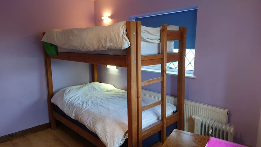 Cosy, private bedroom in popular bunkhouse