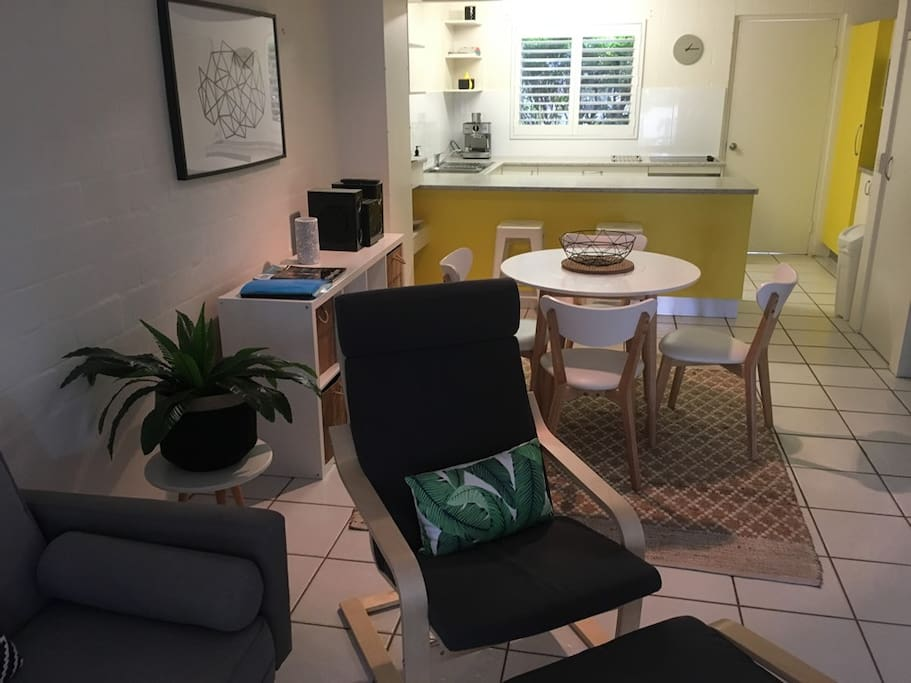 Dining/Kitchen area