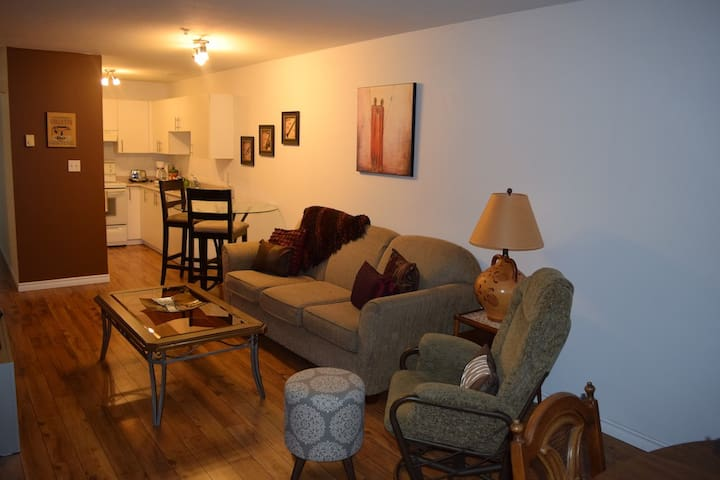 Large central, family friendly, ocean view condo - Campbell River - Flat