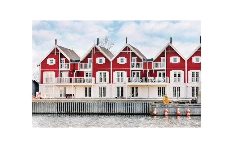 Holiday apartment with 2 bedrooms on 91m² in Nykøbing Sj